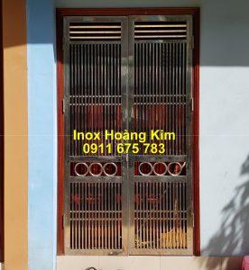 Cổng inox mẫu 226