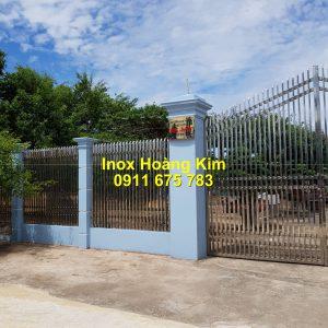 Hàng rào inox mẫu 42