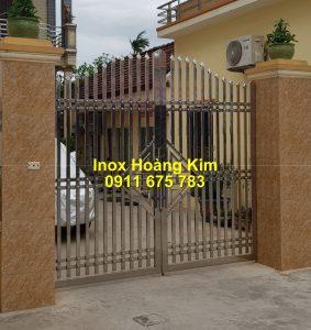 Cổng inox mẫu 243