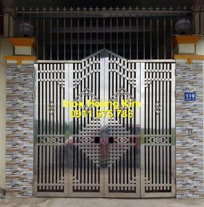 Cổng inox mẫu 249