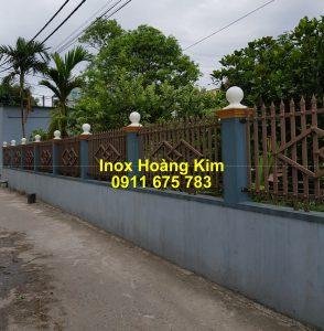 Hàng rào inox mẫu 51