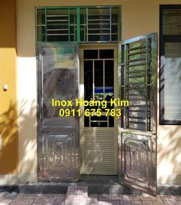 Cổng inox mẫu 254