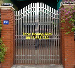 Cổng inox mẫu 256