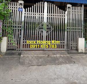 Cổng inox mẫu 258