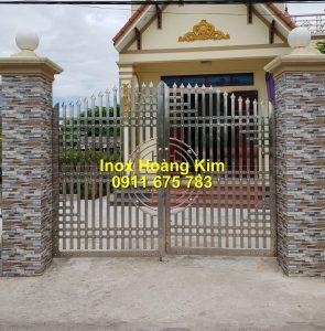 Cổng inox mẫu 259