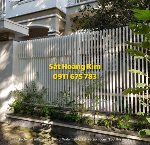 Hàng rào sắt mẫu 5