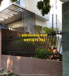 Hàng rào sắt mẫu 6