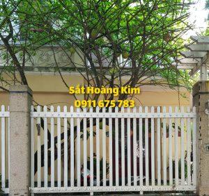 Hàng rào sắt mẫu 11